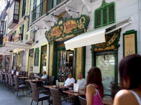 Die Bäckerei war bei Touristen und Einheimischen beliebt.