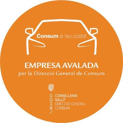 So sieht das vom Verbraucherschutz kreierte Qualitätssiegel für Mietwagen auf den Balearen aus.