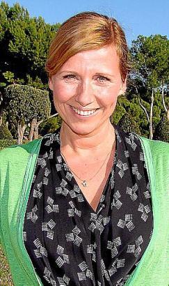 Andrea Kiewel vor ein paar Jahren auf Mallorca.