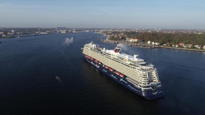 """Die neue """"Mein Schiff 1"""" ist schon seit Frühjahr 2018 mit Urlaubern unterwegs."""