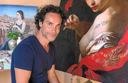 Derzeit konzentriert sich Antonio del Prete auf Frauenbildnisse.