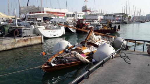 Das Boot konnte wieder an die Oberfläche geholt werden.