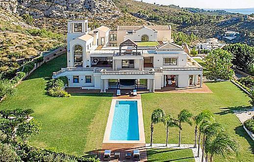 Millionenvilla bei Alcúdia auf Mallorca.