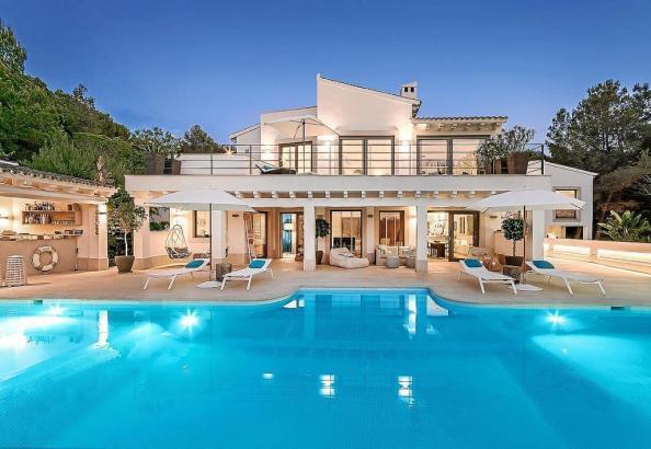 Luxusvilla auf Mallorca.