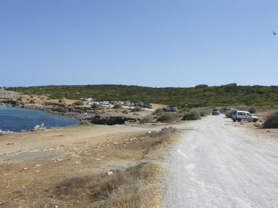 Bereits 2015 hatten Naturschützer eine Neuregelung der Parkplatzsituation am Naturstrand Playa S'Algar gefordert.