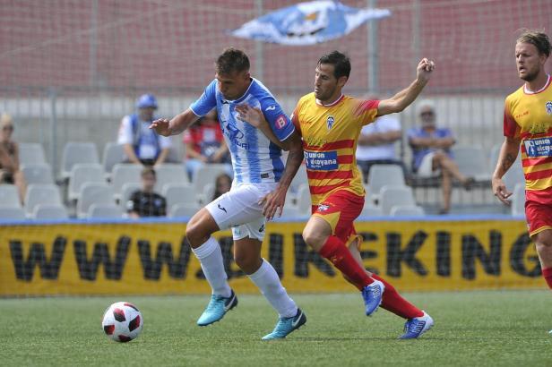 Gegen Alcoyano bot Guillermo Vallori wieder eine starke Leistung im Trikot der Blau-Weißen.
