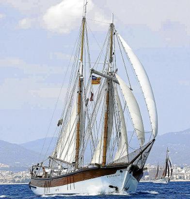 """Die """"Isla Ebusitana"""" ist der älteste Schoner der Welt."""