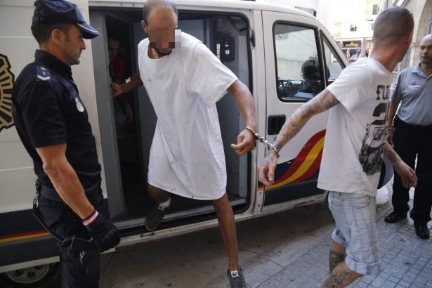 Der Messerstecher wurde in Palma de Mallorca dem Haftrichter vorgeführt.