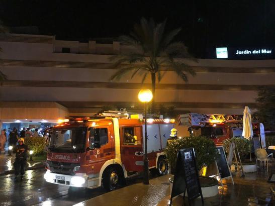 Der Feuerwehreinsatz dauerte weniger als eine Stunde.