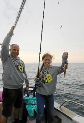 Pescaturismus auf Mallorca boomt. Familie Mechnich aus Deutschland hat es getestet.