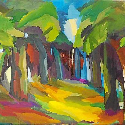 Werke von Ulrike von Schrader sind ab diesem Donnerstag, 13. September, in der Galeria de Arte Minkner zu sehen.