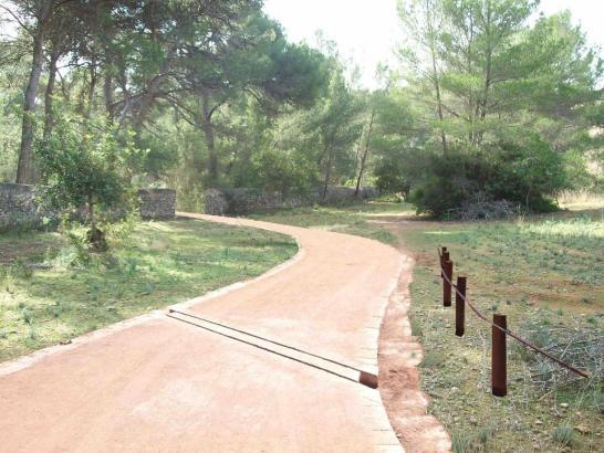 In den vergangenen zwei Jahren wurde im Schlosspark von Bellver schon einiges verändert.