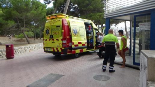 In Santa Ponça wurden zwei Italienerinnen von einem Boot gerammt.