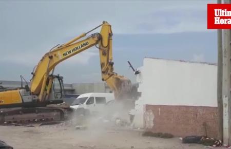 Der Abriss der Barackensiedlung Son Banya geht weiter.