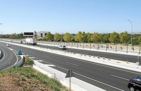 Der neuerrichtete zweite Ring in Palmas Osten verfügt künftig über ausreichend Fahrbahnen, um VAO-Spuren einzurichten, hieß es.