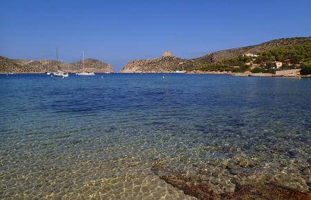 Strahlend schönes Wetter herrscht dieser Tage auch auf der Mallorca vorgelagerten Felseninsel Cabrera, südlich von Colònia de Sa