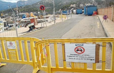 Im Hafen von Port de Sóller stehen ab sofort 160 Stellplätze weniger zur Verfügung.