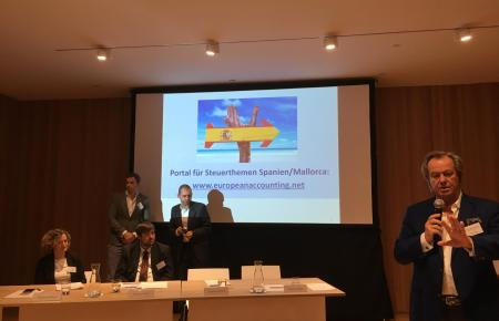 Die Steuerberatungskanzlei European Accounting informiert im Rahmen eines zweitägigen Symposiums in Palma über Steuer- und Immob