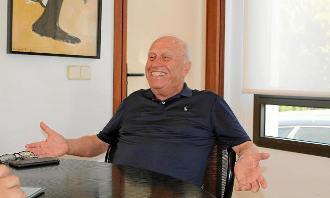 Jaume Bauzá hat gut lachen. Der Unternehmer ist in den Jahrzehnten seines Engagements ein Erfolg nach dem anderen geglückt.