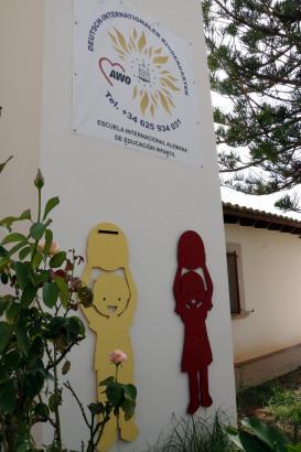 Der deutsch-internationale AWO-Kindergarten in Santa Maria auf Mallorca.