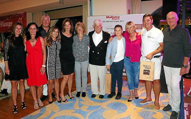 So sehen Sieger aus: Das sind die sportlichen Gewinner der MM-Golftrophy des vergangenen Jahres.