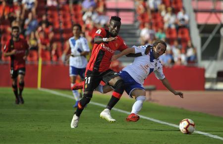 Lago Junior machte gegen Teneriffa einen Treffer für die Roten von Mallorca.