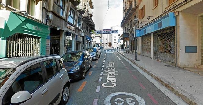 Anwohner des Plaça del Banc de S'Oli wissen nicht mehr, wohin mit ihren Pkws. Bald soll auch die Calle Velázquez zur Fußgängerzo