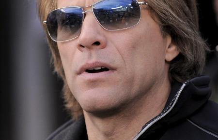 Wer ihm zuhört, wird automatisch zum Headbanger: Jon Bon Jovi.