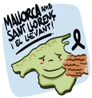 Hilfe für das Katastrophengebiet auf Mallorca.