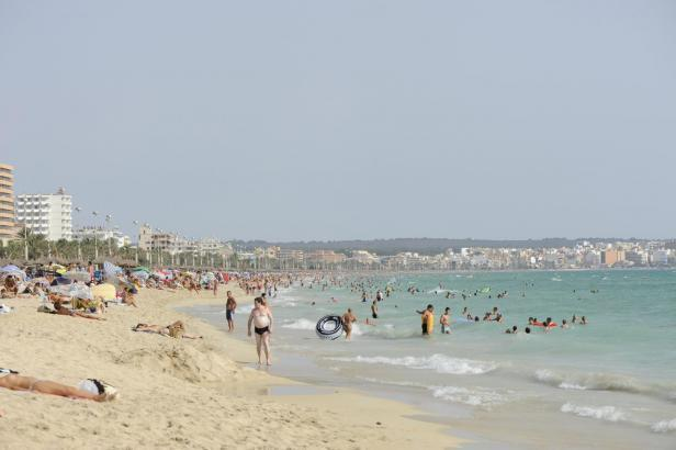 Badestrand auf Mallorca.