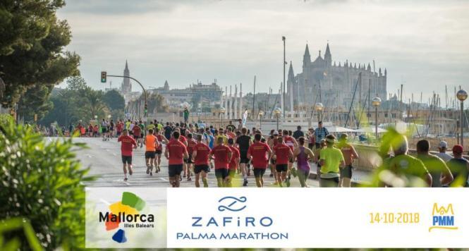 Der Zafiro Marathon in Palma de Mallorca.