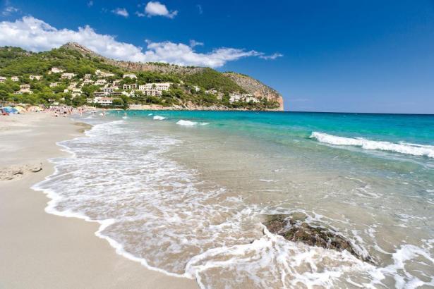 So sah der Strand von Canyamel früher aus.