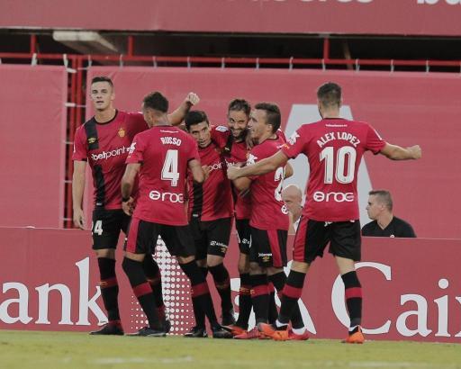 Keine Ballkünstler: Spieler von Real Mallorca.