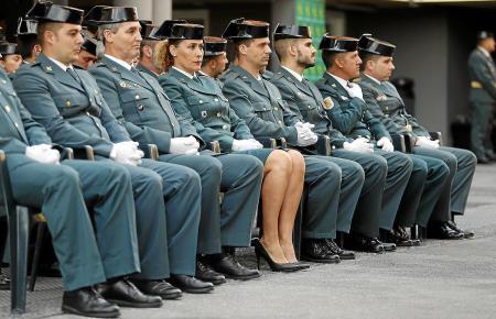 Unter den derzeit fast 2000 Soldaten der Polizeieinheit Guardia Civil sind nur 140 Frauen.