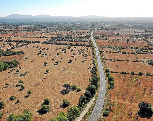 Mit solchen Luftbildern werben die Umweltschützer auf Mallorca für das Landschaftsbild.