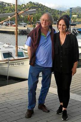 Nathalie Kollo hatte in ihrem Lokal in Port d'Andratx den kulinarisch beflissenen Vater zu Gast.