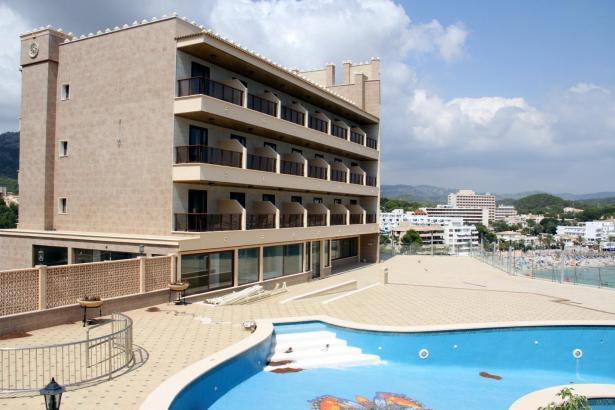 Dieses Hotel in Peguera war ein Objekt der Russen.