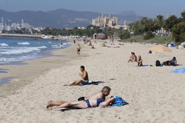 Am Donnerstag und Freitag herrschte noch Strandwetter.