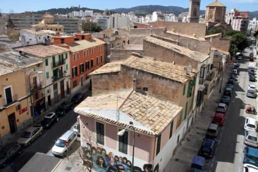 Das ehemalige Fischerviertel Santa Catalina in Palma de Mallorca.