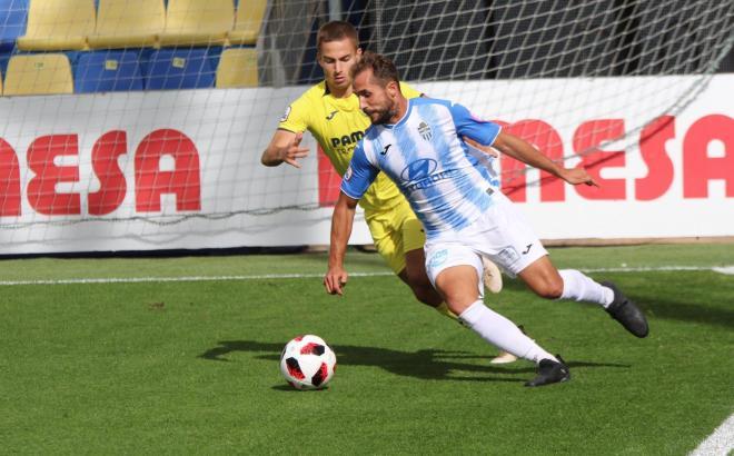 Canario traf in dieser Saison bisher zweimal für die Blau-Weißen, blieb gegen Villarreal B aber ohne Torerfolg.