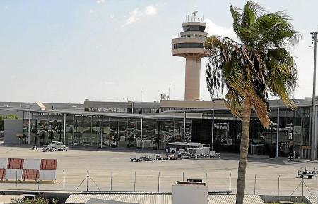 Die Aufnahme zeigt das B-Terminal am Flughafen von Palma.