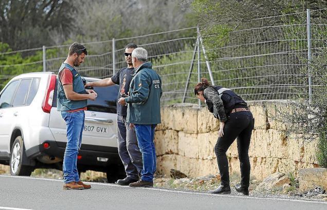 Ermittlungsarbeiten bei Cala Pí auf Mallorca.