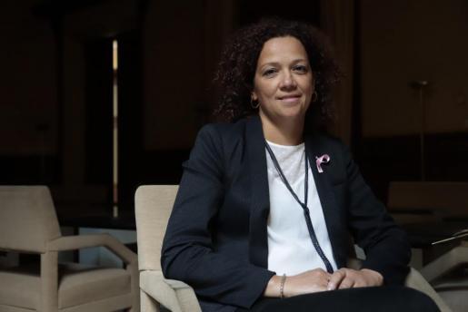 Catalina Cladera ist nicht nur Finanzministerin, sondern auch Katastrophenschutzbeauftragte der Balearen-Regierung.