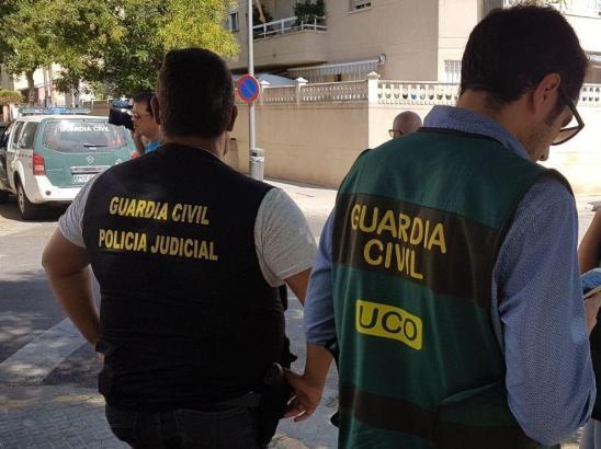 Drogenrazzia auf Mallorca.