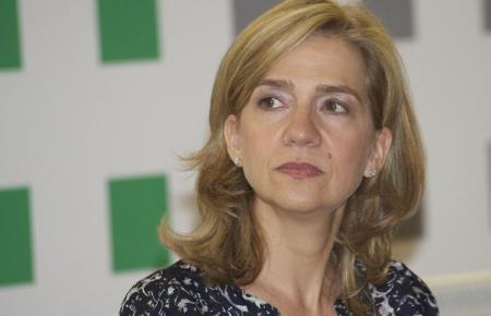 Infantin Cristina de Borbón.