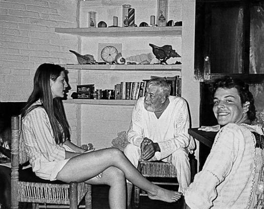 Bild aus vergangenen Zeiten: Allegra, John und Danny Huston (von links).