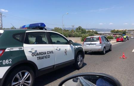 Die Guardia Civil im Einsatz.