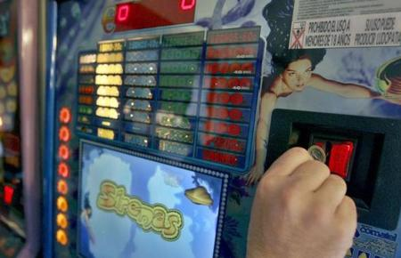 An einem Automaten wie diesem ist der Täter verzweifelt.