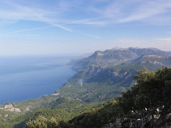 Wechselhaftes Ambiente auf Mallorca.