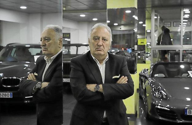 Toto Salom beklagt die Umsatzrückgänge in der Autobranche.